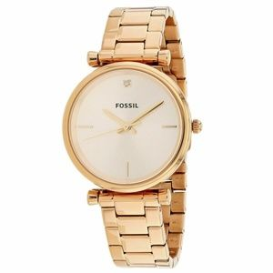 Fossil Women's ES4441 Rose Gold